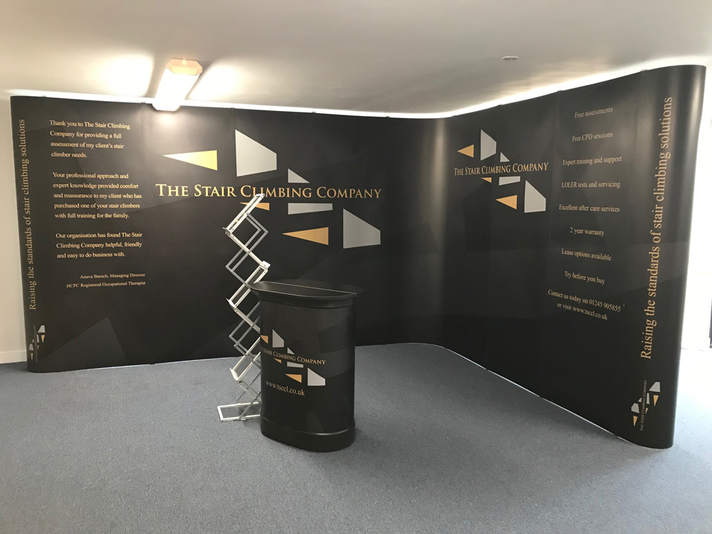 Eurostand Design - Stair Climbing Company