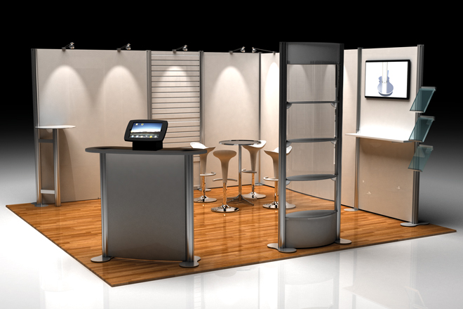 Exhibition Display Solutions : Exhibition display equipment
