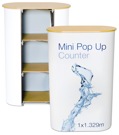 Mini Pop Up Counter - Beech Top