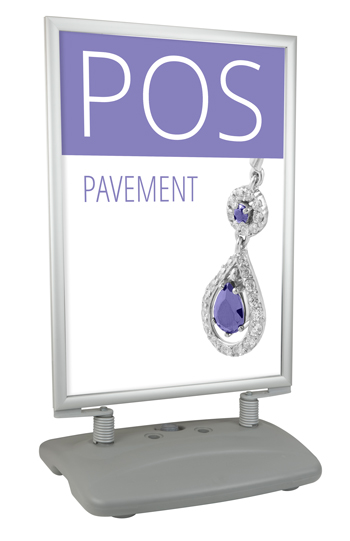 POS Pavement Display